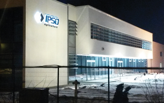 OFFICE BUILDING AND TRACTORS SHOWROOM WITH SERVICE HALL - IPSO MOGOȘOAIA