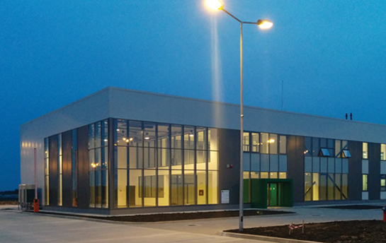 OFFICE BUILDING AND TRACTORS SHOWROOM WITH SERVICE HALL - IPSO TIMIȘOARA